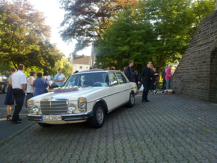 Hochzeits-Kutsche